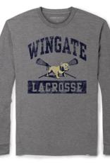 League Grey Lacrosse Drifit LS