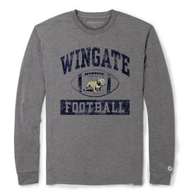 League Grey Football Drifit LS