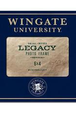 6X4 Wingate University Seal Frame