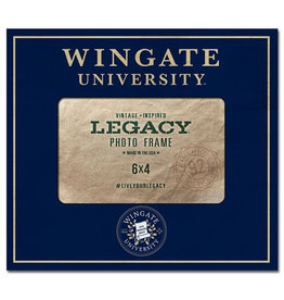 6X4 Wingate University Seal Frame