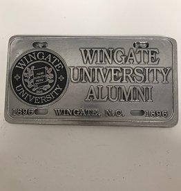 Alumni Pewter License Plate