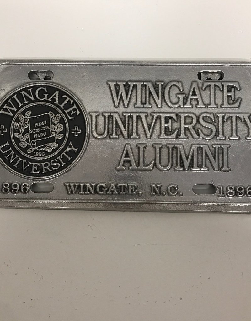 Alumni Pewter License Plate