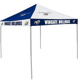 10x10 Wingate Bulldogs Tent Navy White