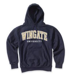MV Sport Navy Wingate University Embroidered Hood