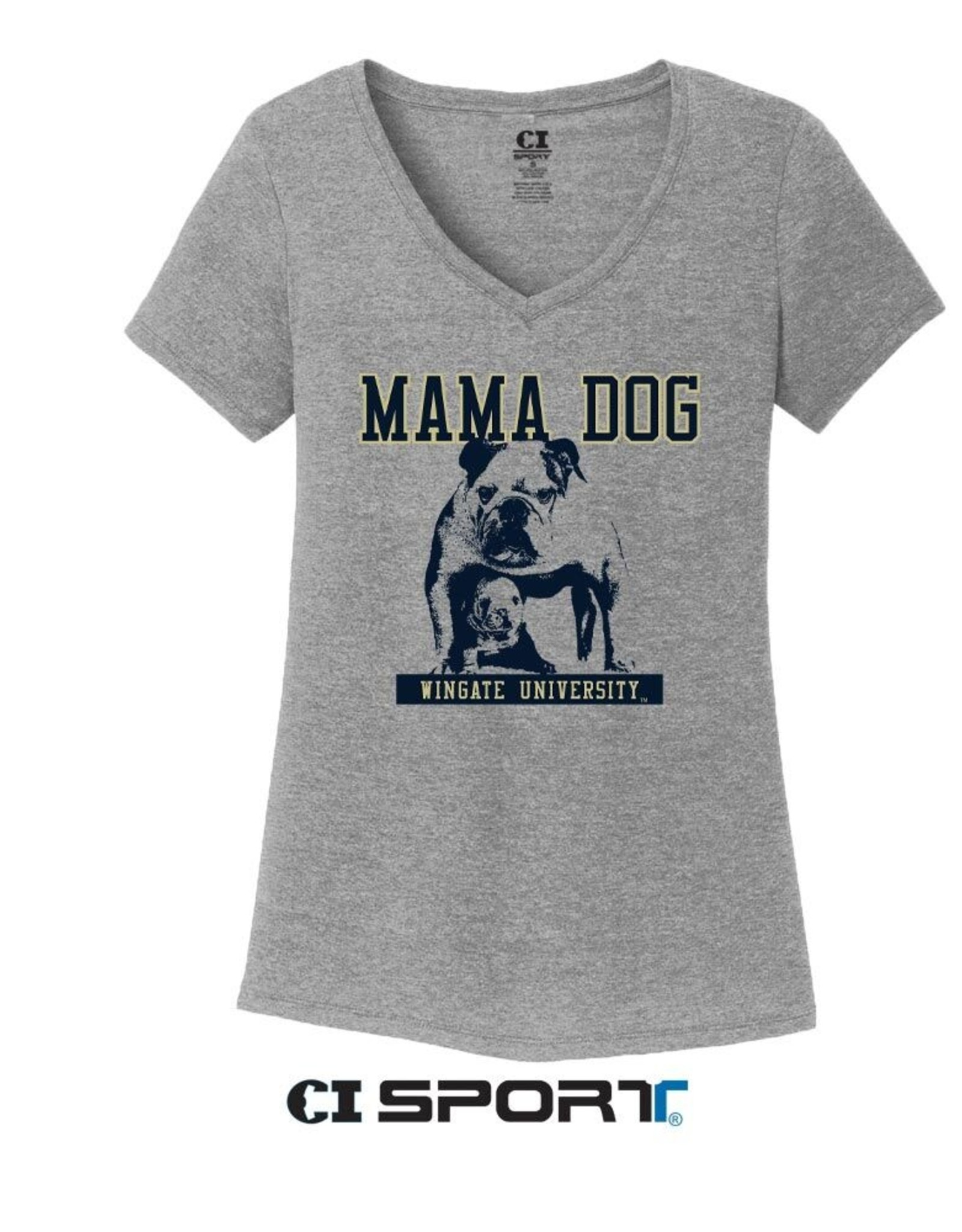 DISTRICT Mama Dog V-Neck