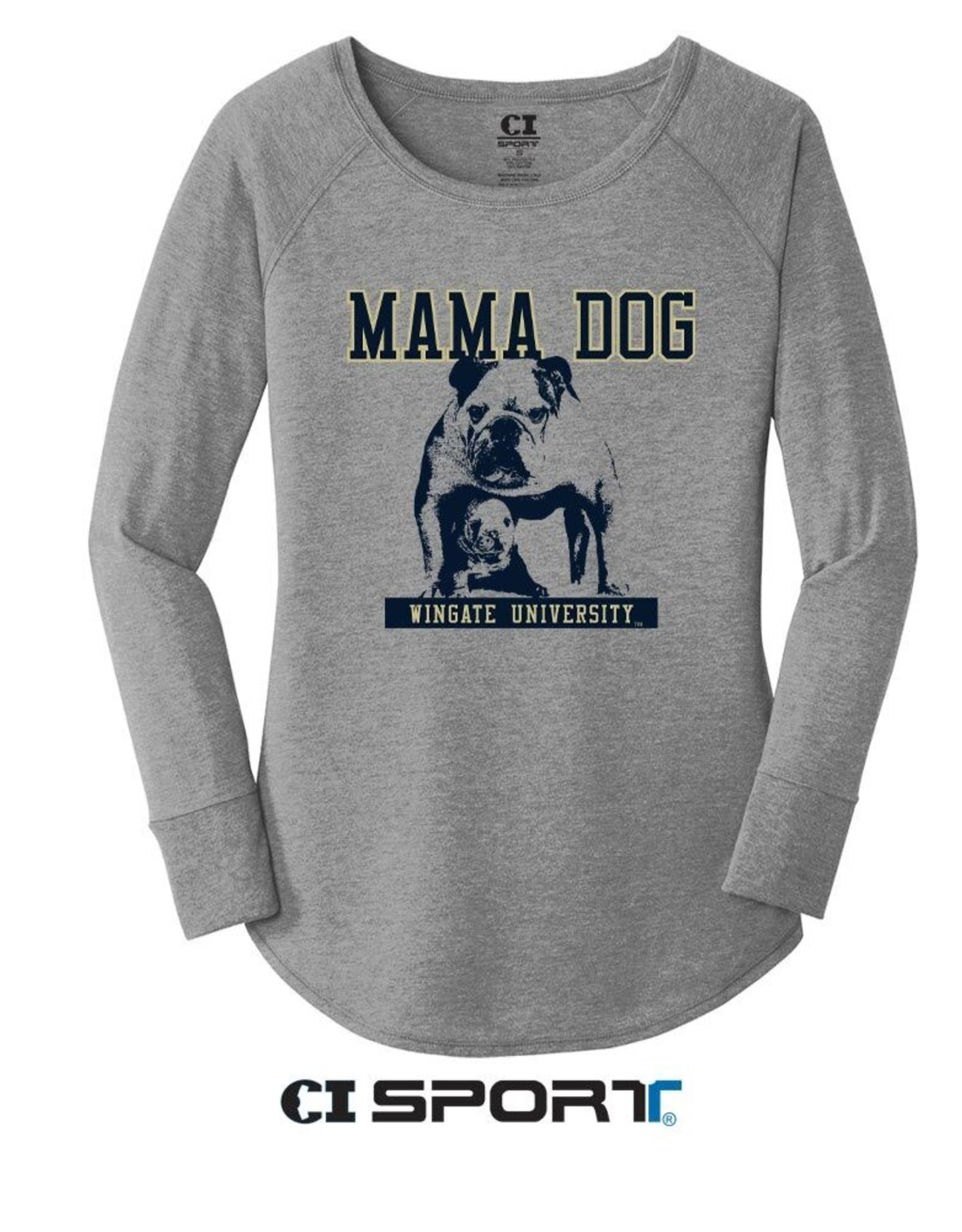 DISTRICT Mama Dog LS Tee