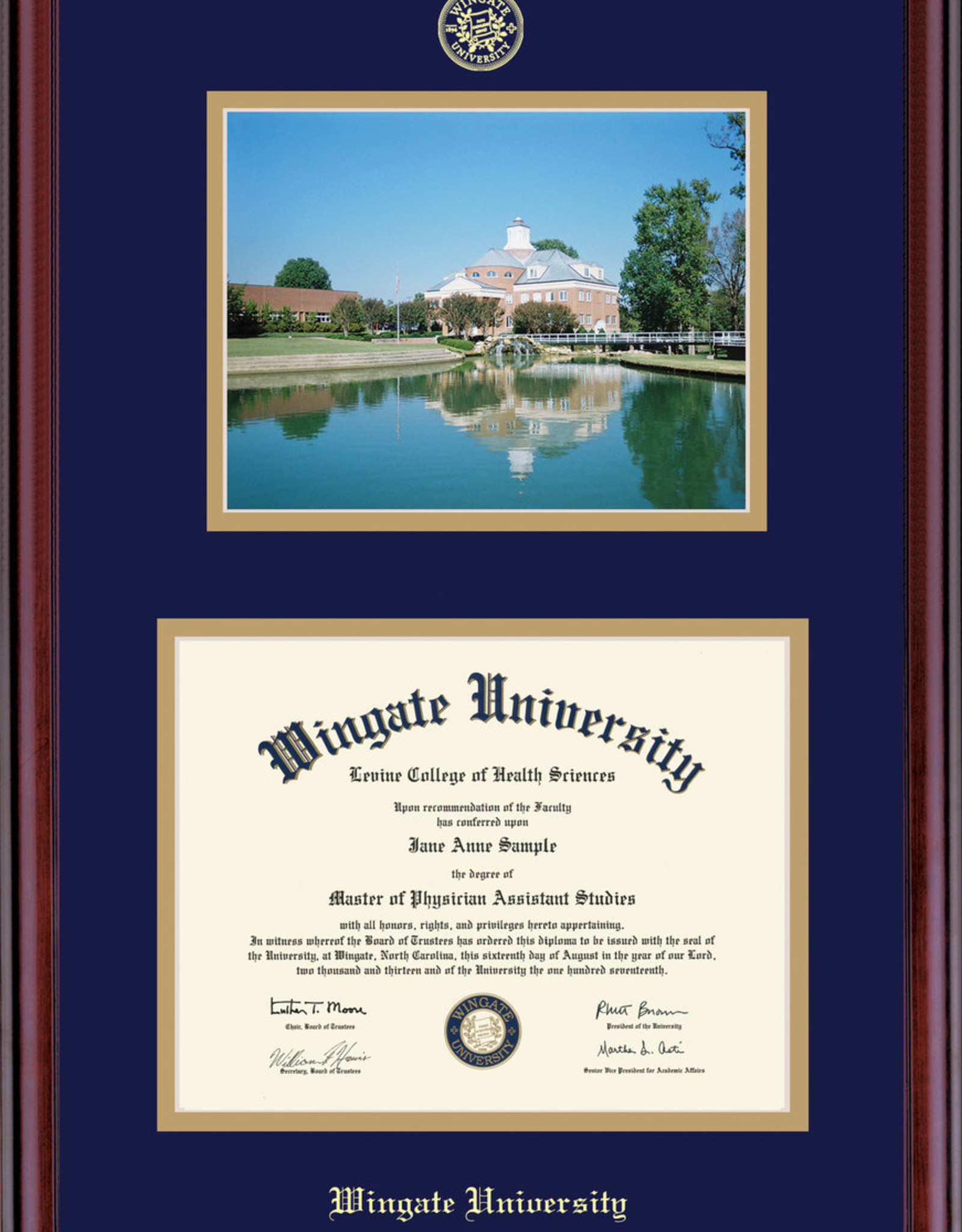 Classic Diploma Frame Picture
