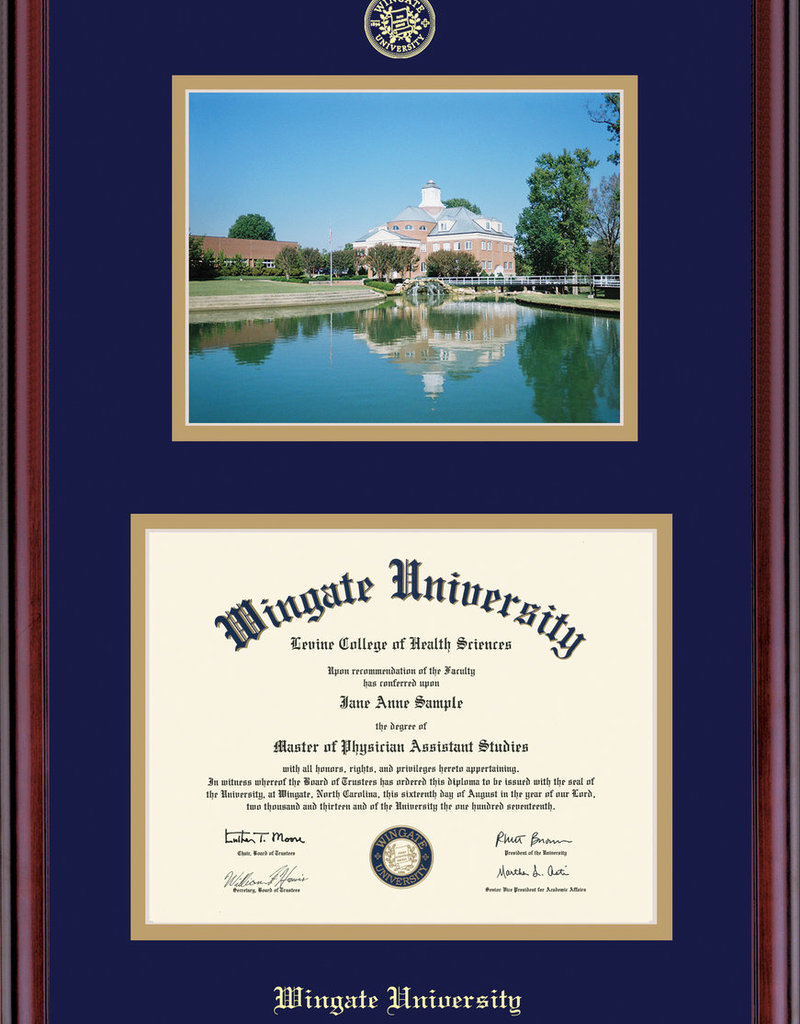 Classic Diploma Frame with Picture