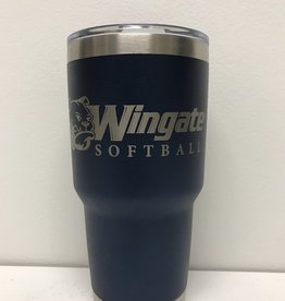 30oz Stainless Softball Tumbler