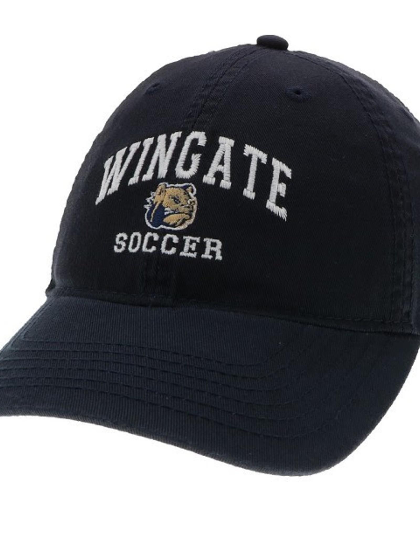 Deep Navy Wingate Dog Head Soccer Hat