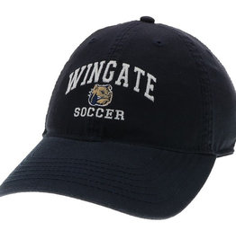Deep Navy Wingate Dog Head Soccer Hat