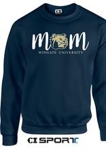 Gildan Navy Mom Crewneck
