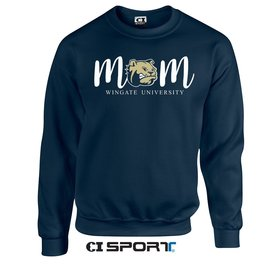 Gildan Navy Mom Crewneck