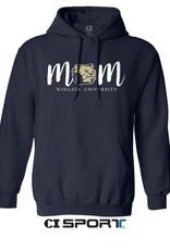 Gildan Navy Mom Hoodie