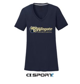 Navy Cheerleading V-Neck 2X
