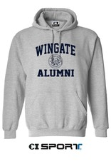 Alumni Basic Grey New Seal Hoodie