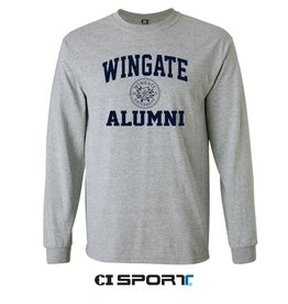 Alumni Basic Grey New Seal LS Tee