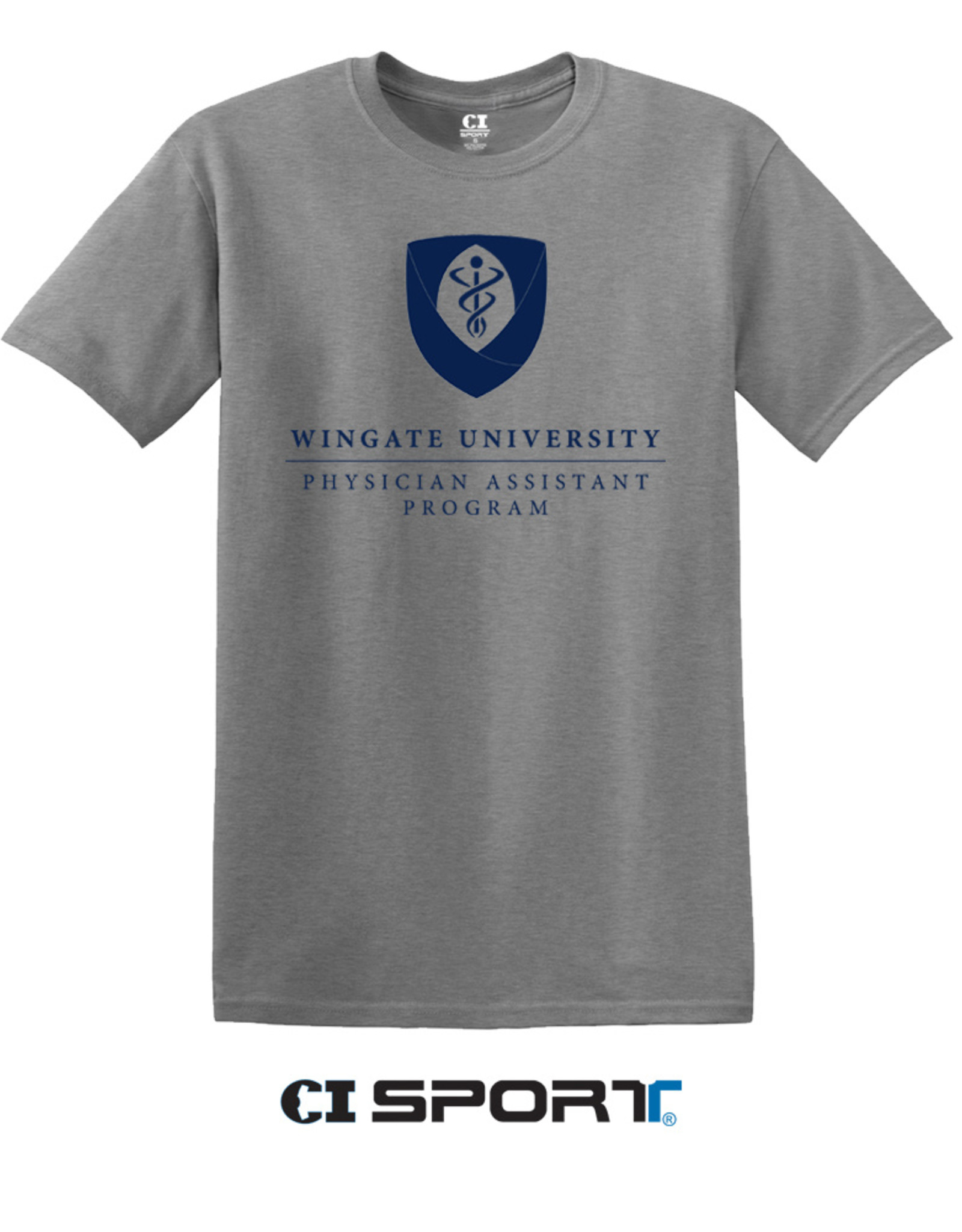 Grey Physician Assistant Tee SS