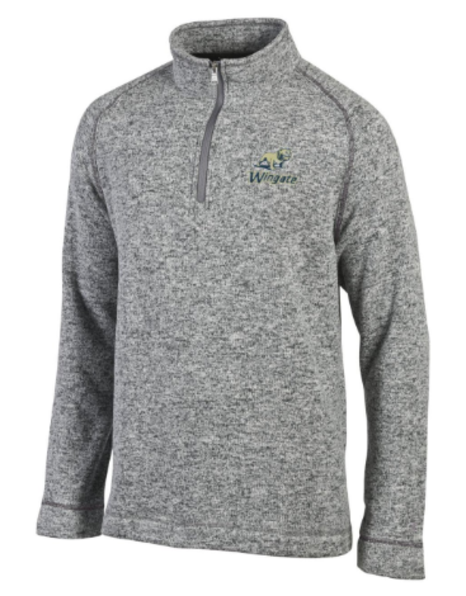Champion Mens Artic Grey Zip 1/4 Zip
