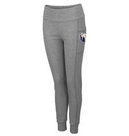 Colosseum Grey Pocket Leggings Dog Head Wingate