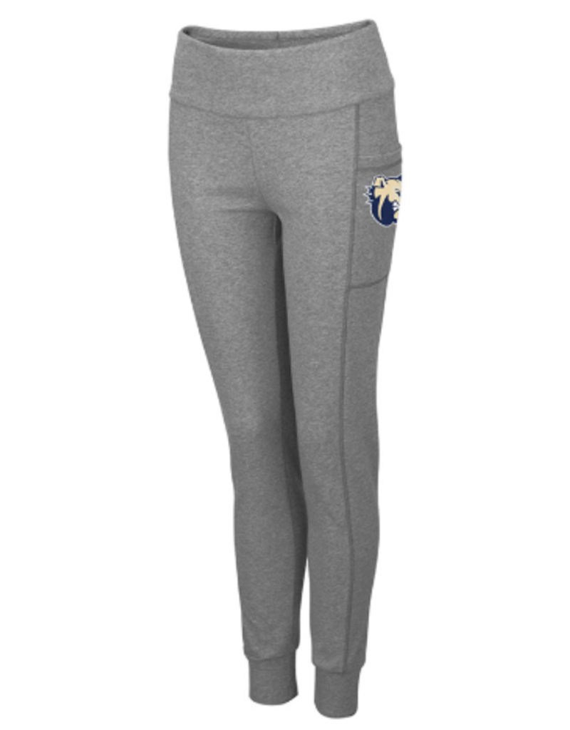 Grey Pocket Leggings Dog Head Wingate