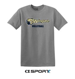 Grey Volleyball Dog Head Wingate