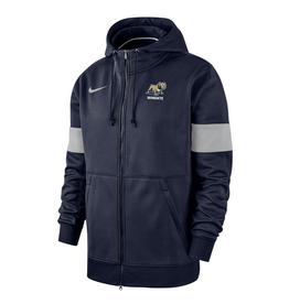 Nike Navy Therma Full Zip Hoodie Jacket