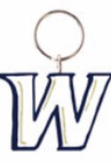 Recycled Wood Keychain W