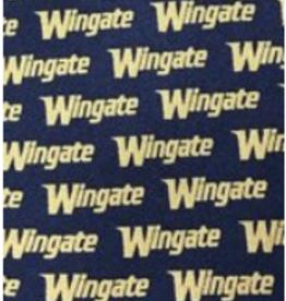 Navy Gold Wingate Tie