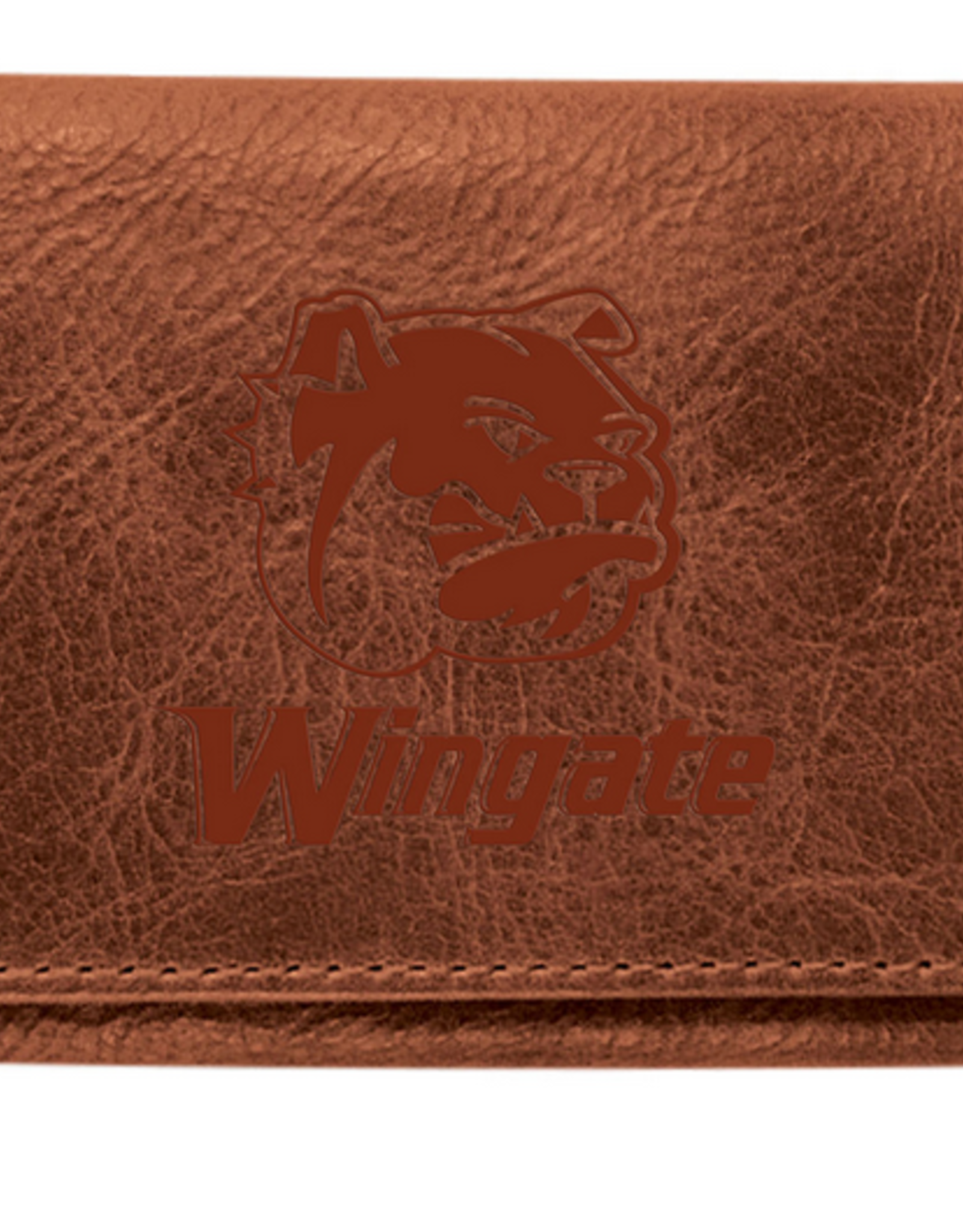 TriFold Brown Leather Wallet