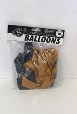 Gold And Navy Balloons