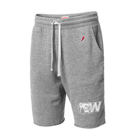 Grey Sweatpant Short