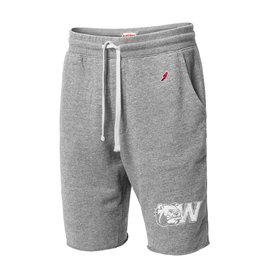 Grey Sweatpant Shorts