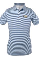 Toddler & Youth Navy Stripe Polo