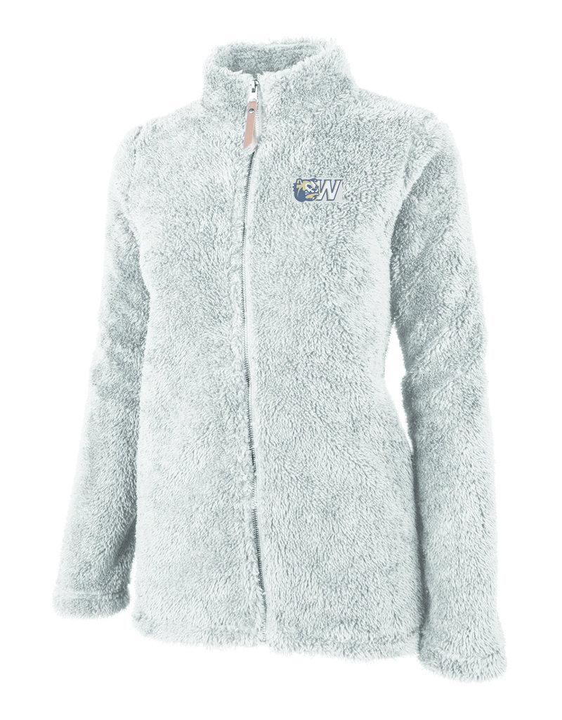 Grey Ladies Newport Fleece Full Zip