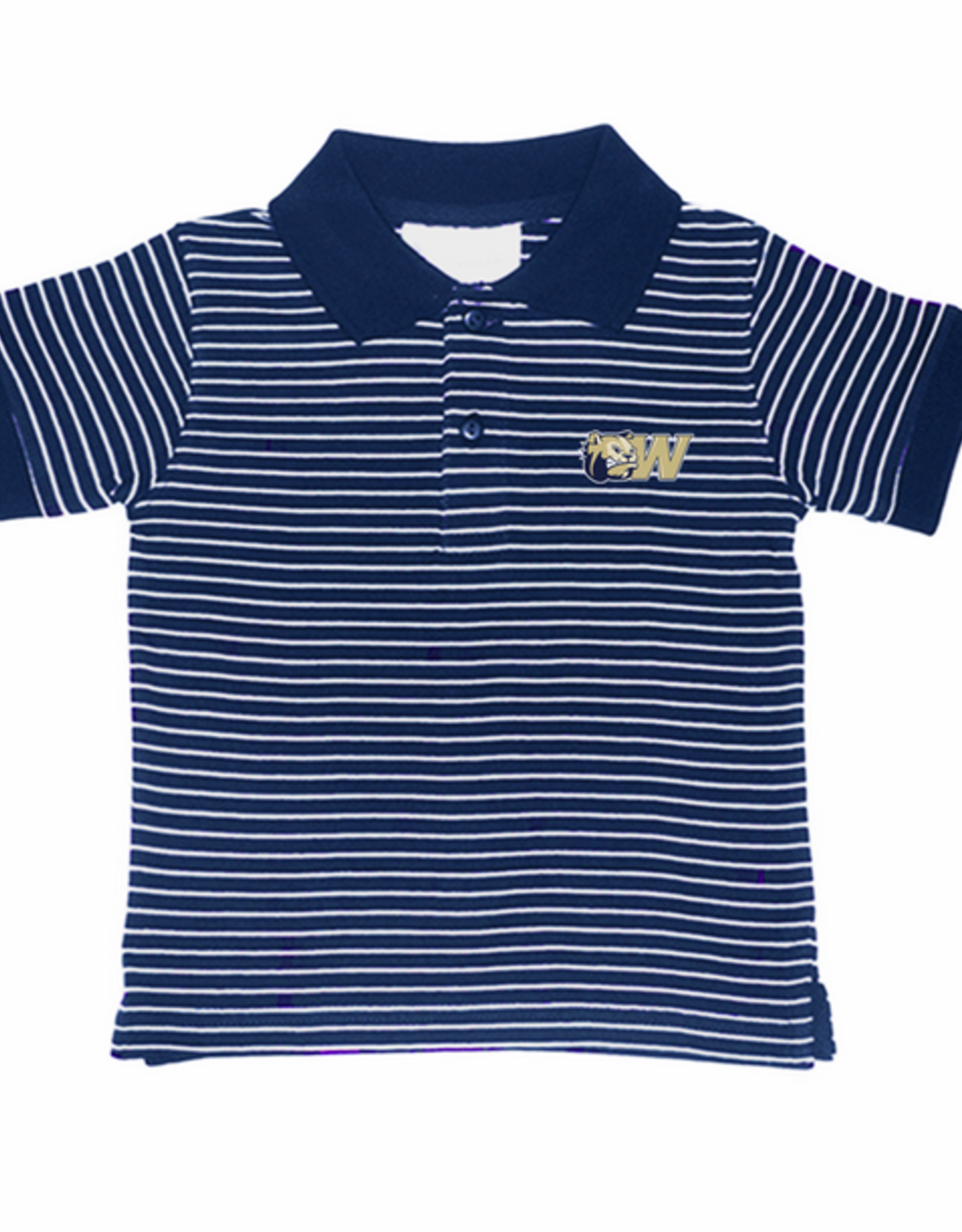 Toddler Striped Jersey Golf Shirt
