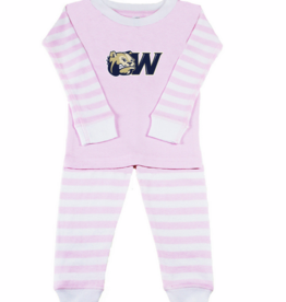 Infant & Toddler Pink Striped Pajama