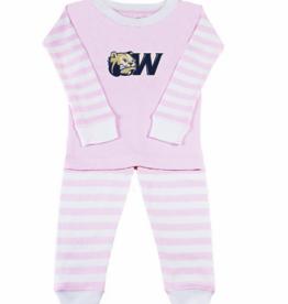 Pink Striped Pajama