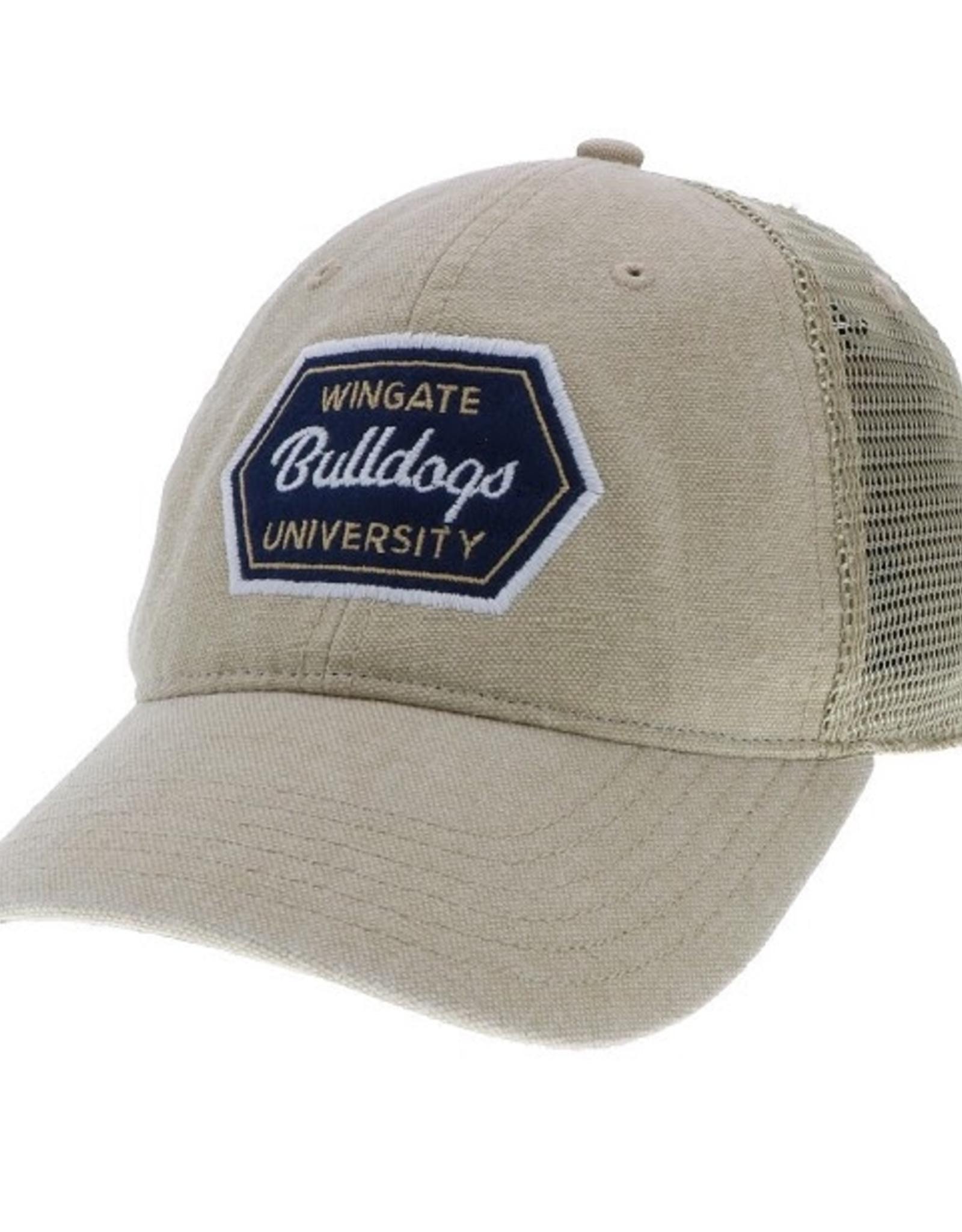 Khaki Wingate Bulldogs University Patch