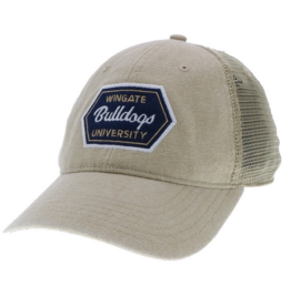 Khaki Wingate Bulldogs University Patch