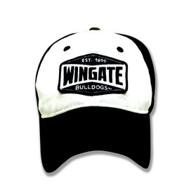 Navy and White Wingate Patch Vintage Hat