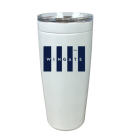 20oz White Wingate Tall Flag Viking Nova Tumbler
