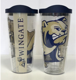 24oz Tervis Tumbler Bulldog  Wrap With Lid