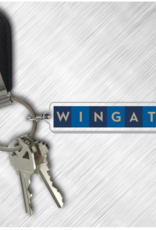 Wingate Letters Keychain