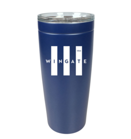 20oz Navy Wingate Tall Flag Viking Tumbler