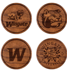 LazerEdge Variety 4 Pack Wood Coasters