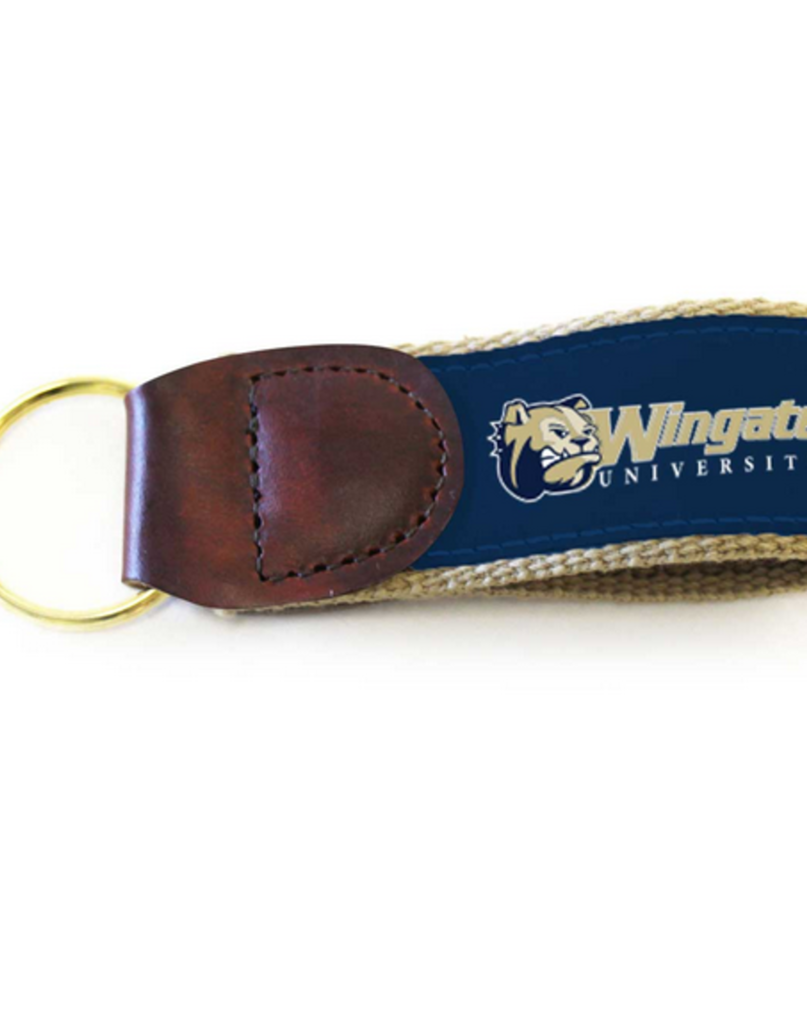 Ribbon Keychain Dog Head WU