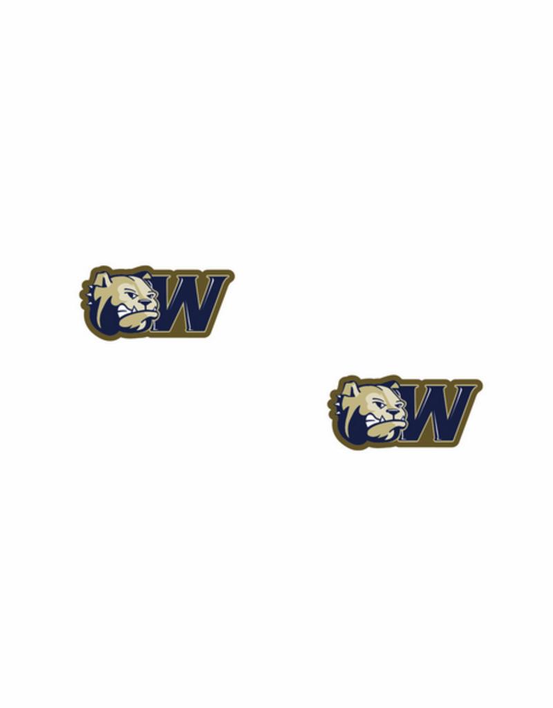 Custom Dog Head W Post Earrings
