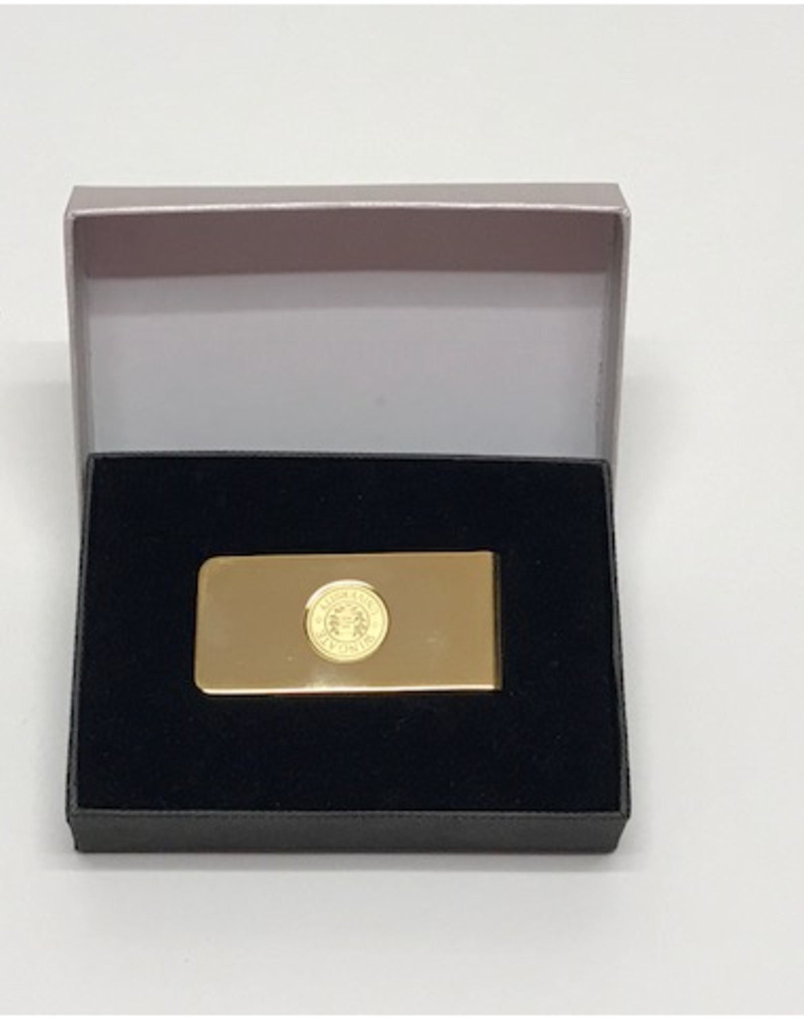 Money Clip Brass Wingate Seal