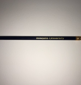 Navy Wingate University #2 Pencil